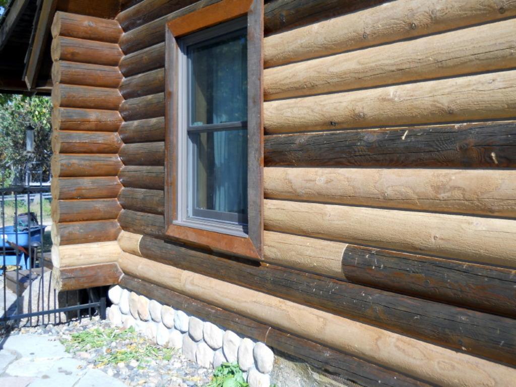 реконструкция бревенчатого дома фото